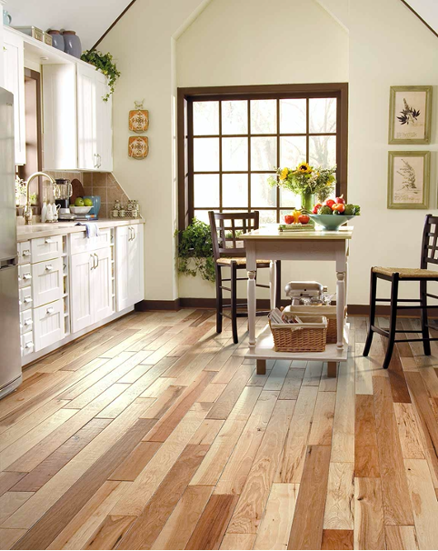 High-Variation Hardwood Floor Example