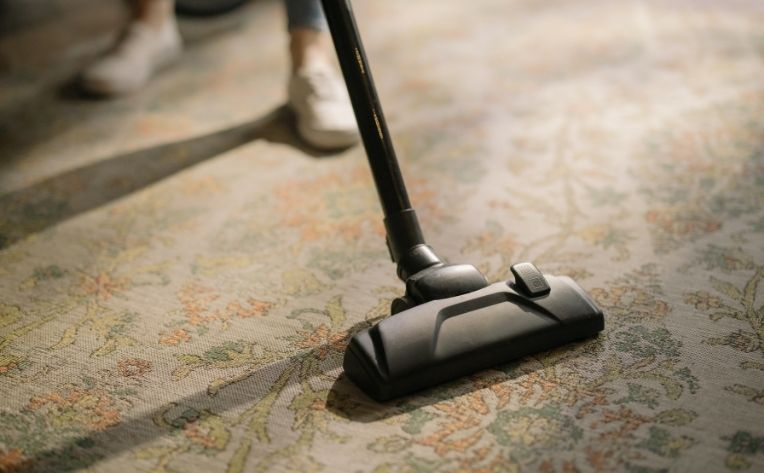 Vacuum on Carpet Flooring